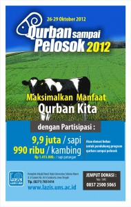Qurban Sampai Pelosok 2012