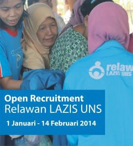 Open Recruitment Relawan LAZIS UNS 2014