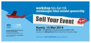 "LAZIS UNS adakan Workshop Sponsorship : ""Sell Your Event"""