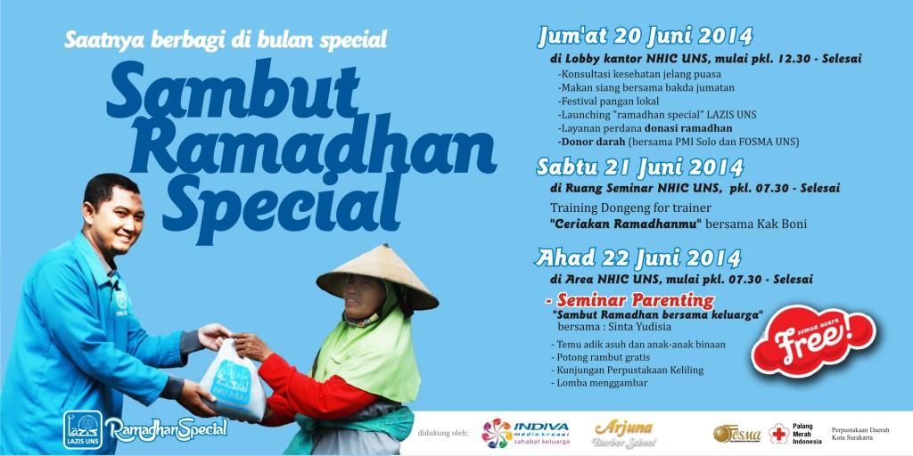 Sambut Ramadhan Special bersama LAZIS UNS
