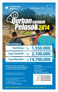 Qurban Sampai Pelosok 2014