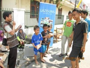LAZIS UNS Resmikan Rumah Anak Pintar unit  Kanggotan