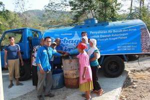 LAZIS UNS Berbagi Air Bersih Di Wonogiri