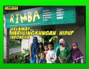 Rumah Anak Pintar Belajar Lingkungan Hidup Sejak Dini
